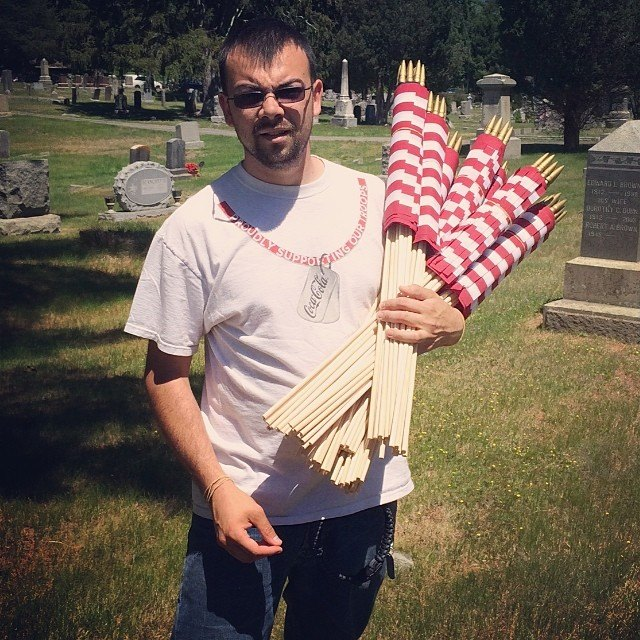 Honor Our Veterans: Help Place Grave Flags for MemorialDay