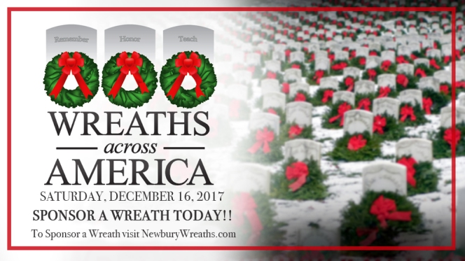 Wreaths Across America, Newbury2017