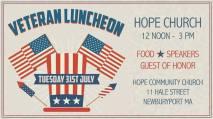 Yankee Homecoming Veterans Luncheon2018